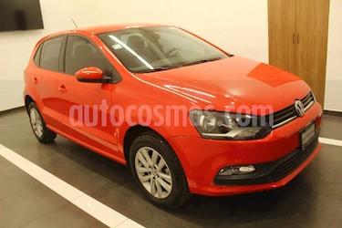 Foto Volkswagen Polo 5p TSI L4/1.2/T Aut usado (2017) color Rojo precio $189,000
