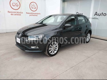Volkswagen Polo 5p Design & Sound L4/1.6 Man usado (2019) color Gris precio $225,000