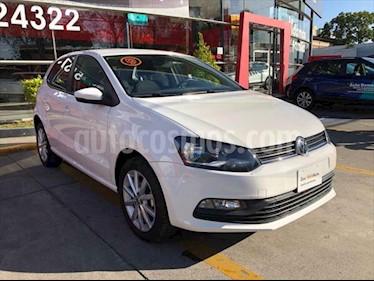 Volkswagen Polo 5p Design & Sound L4/1.6 Aut usado (2019) color Blanco precio $211,990