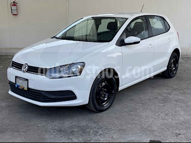 Volkswagen Polo 5p Design & Sound L4/1.6 Aut usado (2019) color Blanco precio $169,800