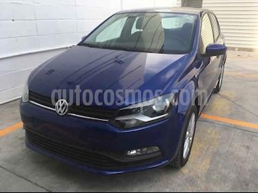 Volkswagen Polo 5p Design & Sound L4/1.6 Man usado (2019) color Azul precio $217,000