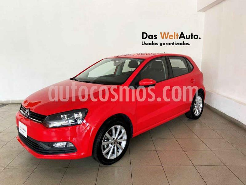 Volkswagen Polo Design & Sound usado (2019) color Rojo precio $209,086