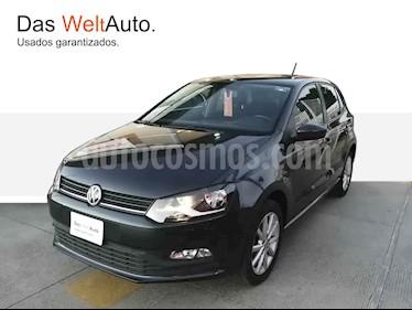 Volkswagen Polo 5p Design & Sound L4/1.6 Aut usado (2019) color Gris precio $214,297
