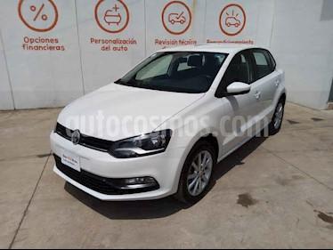 Volkswagen Polo 5p Design & Sound L4/1.6 Man usado (2019) color Blanco precio $227,000