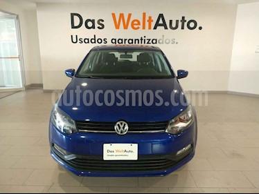 Volkswagen Polo 1.6L Comfortline 5P usado (2019) color Azul precio $209,900