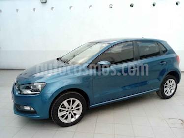 Volkswagen Polo 5p L4/1.6 Aut usado (2018) color Azul precio $210,000