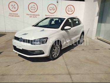 Volkswagen Polo 5p Design & Sound L4/1.6 Man usado (2019) color Blanco precio $225,000