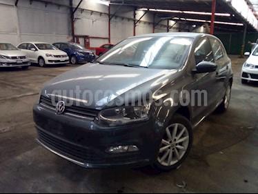 Volkswagen Polo 5p Design & Sound L4/1.6 Man usado (2019) color Gris precio $215,000
