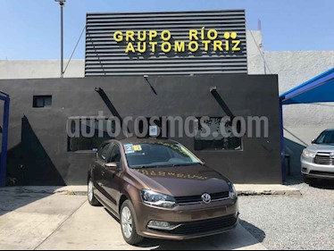 Volkswagen Polo Sound Tiptronic usado (2018) color Cafe precio $185,000
