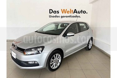 foto Volkswagen Polo 5p Design & Sound L4/1.6 Man usado (2019) color Plata precio $215,995