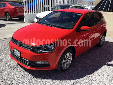 Volkswagen Polo 5p L4/1.6 Man usado (2018) color Rojo precio $185,000