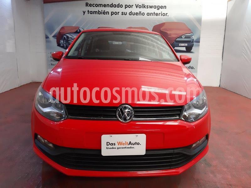 Volkswagen Polo 1.6L Base 5P usado (2019) color Rojo precio $216,000