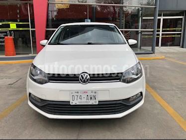 Volkswagen Polo 5p L4/1.6 Aut usado (2017) color Blanco precio $161,752