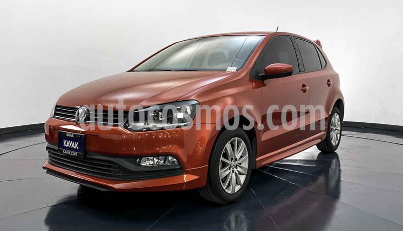 Volkswagen Polo 1.6L Aut usado (2018) color Naranja precio $202,999