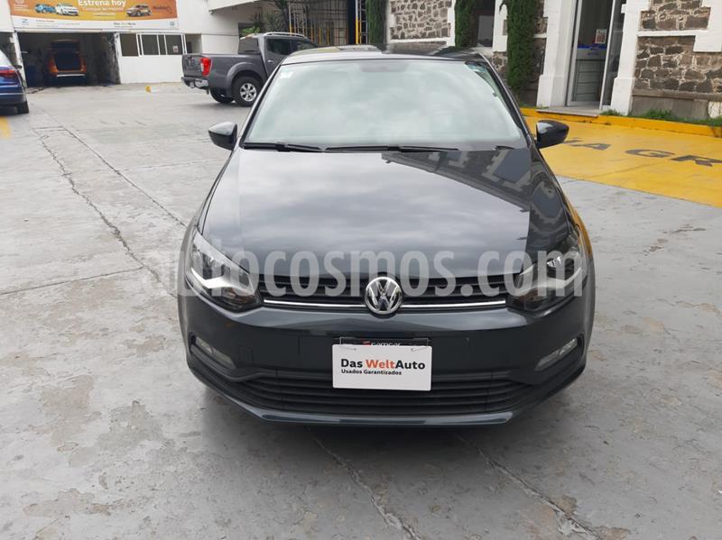 Volkswagen Polo 1.6L Base 5P usado (2019) color Gris precio $215,000