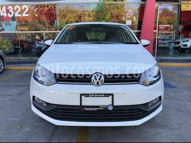 Volkswagen Polo 5p Design & Sound L4/1.6 Aut usado (2019) color Blanco precio $204,399