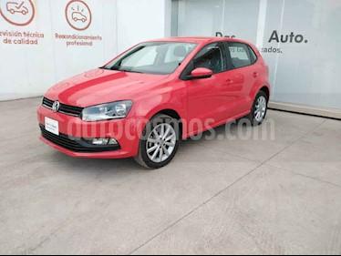 Volkswagen Polo 5p Design & Sound L4/1.6 Man usado (2019) color Rojo precio $227,000