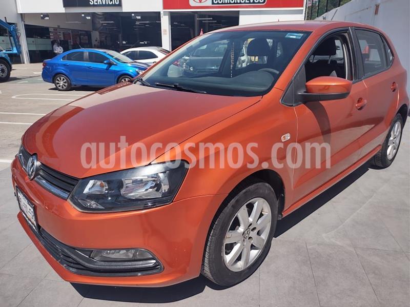 Volkswagen Polo 1.6L Base 4P usado (2015) color Naranja precio $125,000