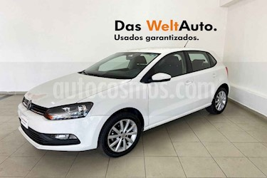 Volkswagen Polo 5p Design & Sound L4/1.6 Man usado (2019) color Blanco precio $206,088