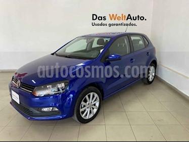 Volkswagen Polo 5p Design & Sound L4/1.6 Man usado (2019) color Azul precio $210,489
