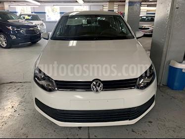 Volkswagen Polo 1.6L Base 5P usado (2018) color Blanco precio $155,000