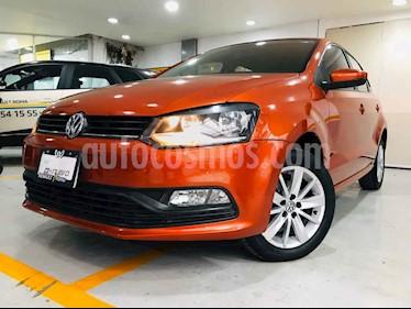 Volkswagen Polo 5p L4/1.6 Man usado (2017) color Naranja precio $167,000