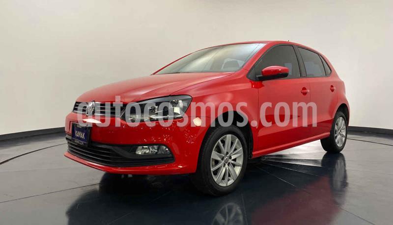 Volkswagen Polo 1.6L usado (2018) color Rojo precio $202,999