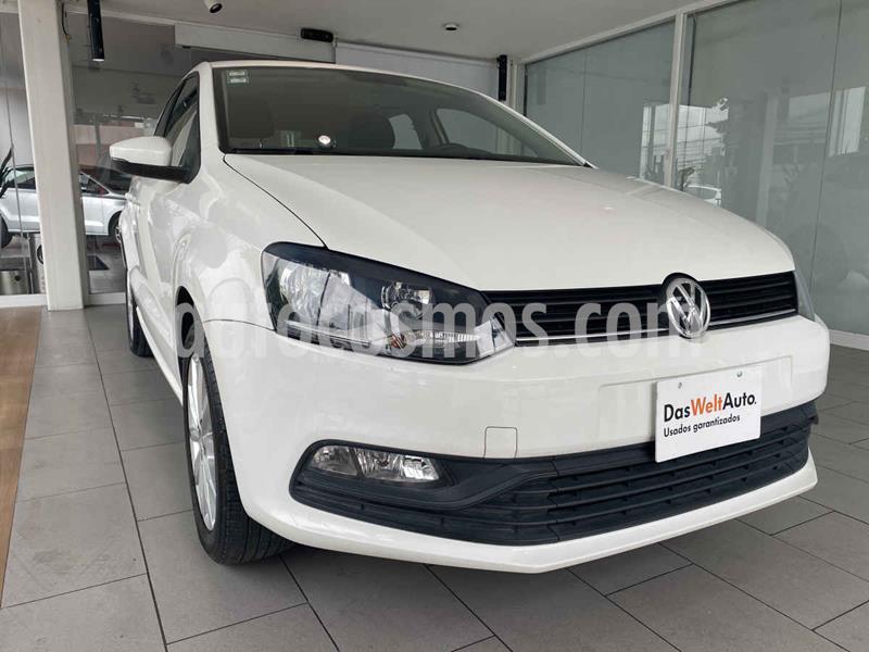 Volkswagen Polo Disign & Sound Tiptronic usado (2019) color Blanco precio $215,000