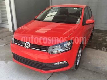 Volkswagen Polo 5p Design & Sound L4/1.6 Aut usado (2019) color Rojo precio $219,500