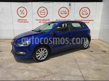 Volkswagen Polo 5p Design & Sound L4/1.6 Aut usado (2019) color Blanco precio $232,000