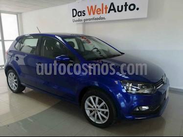 Volkswagen Polo 1.6L Base 5P Ac usado (2019) color Azul precio $195,000