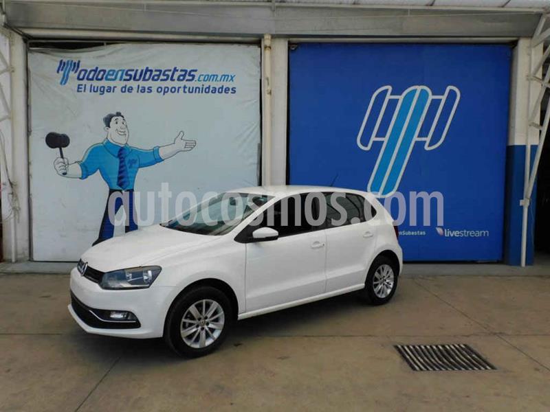 Volkswagen Polo 1.6L usado (2018) color Blanco precio $100,000