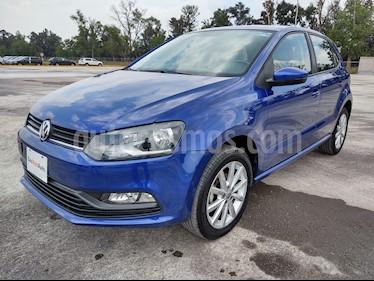 Volkswagen Polo 1.6L Comfortline 5P usado (2019) color Azul precio $219,000