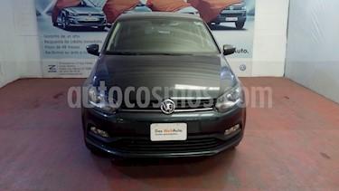 Volkswagen Polo 1.6L Base 5P usado (2018) color Gris precio $188,000