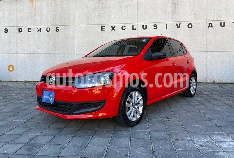 Volkswagen Polo 1.6L Base 4P Ac usado (2014) color Rojo precio $159,000