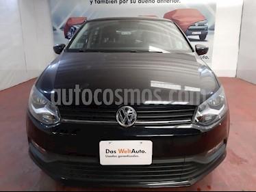 Volkswagen Polo 1.6L Comfortline 5P usado (2019) color Negro precio $215,000