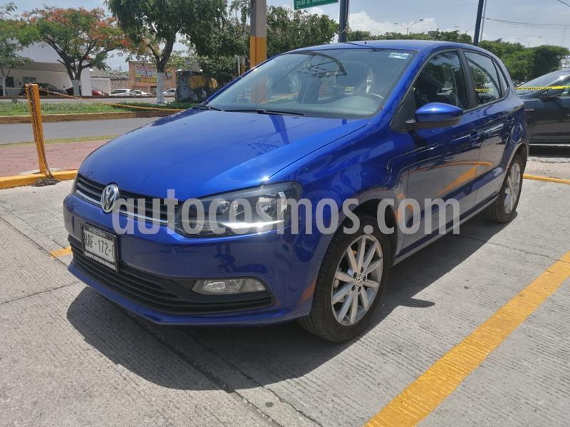 Volkswagen Polo 1.6L Base 4P usado (2020) color Azul precio $225,000