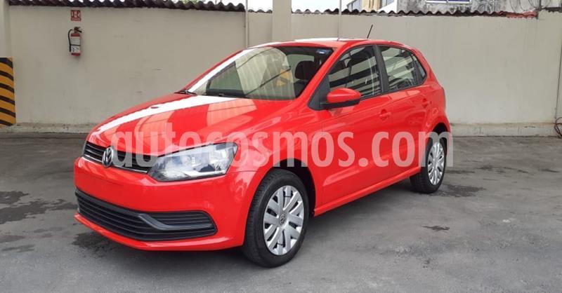 Volkswagen Polo 1.6L Base 5P usado (2019) color Rojo precio $168,900