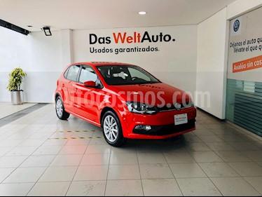 Volkswagen Polo 1.6L Comfortline 5P usado (2019) color Rojo precio $219,000