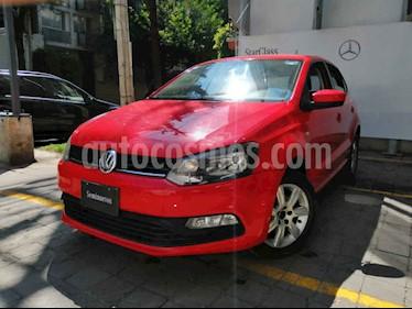 Volkswagen Polo 5p L4/1.6 Aut usado (2015) color Rojo precio $141,000