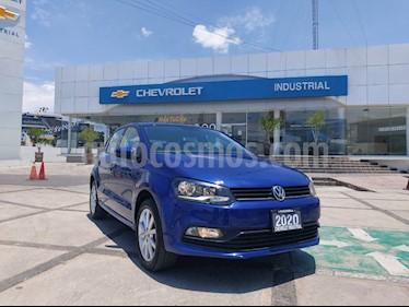 Volkswagen Polo 1.6L Base 5P Ac usado (2020) color Azul Electrico precio $225,000