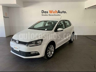 foto Volkswagen Polo 5p Design & Sound L4/1.6 Man usado (2019) color Blanco precio $210,000