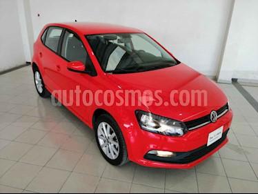 Volkswagen Polo 5p Design & Sound L4/1.6 Man usado (2019) color Rojo precio $208,500