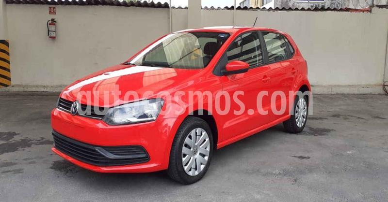 Volkswagen Polo Startline Tiptronic usado (2019) color Rojo precio $159,900