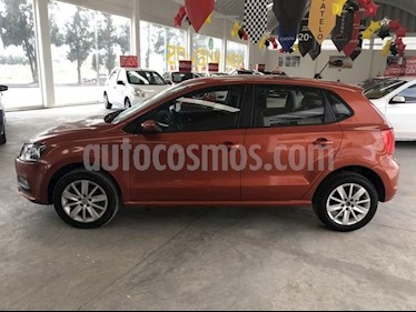 Volkswagen Polo 1.6L Base 4P usado (2018) color Naranja precio $185,000