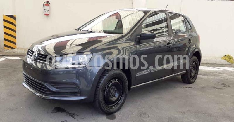 Volkswagen Polo 1.6L Base 4P Ac usado (2019) color Gris precio $159,900