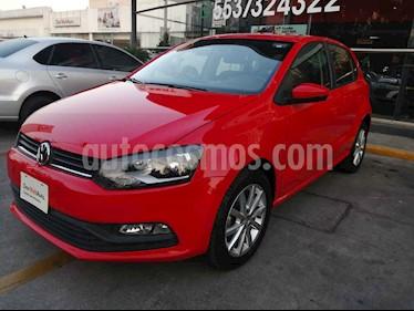 Volkswagen Polo 1.6L Comfortline 5P usado (2019) color Rojo precio $215,000