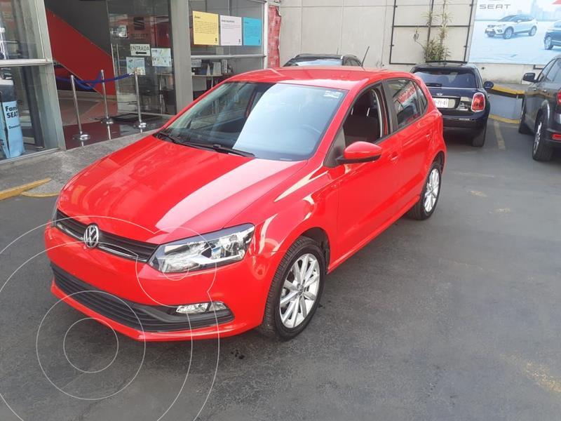 Foto Volkswagen Polo 1.6L Base 5P usado (2020) color Rojo precio $234,500