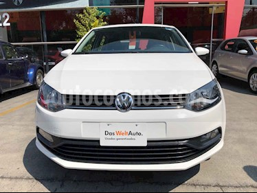 Volkswagen Polo 5p Design & Sound L4/1.6 Man usado (2019) color Blanco precio $197,990