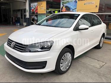 Volkswagen Polo 5p Startline L4/1.6 Aut usado (2020) color Blanco precio $211,990